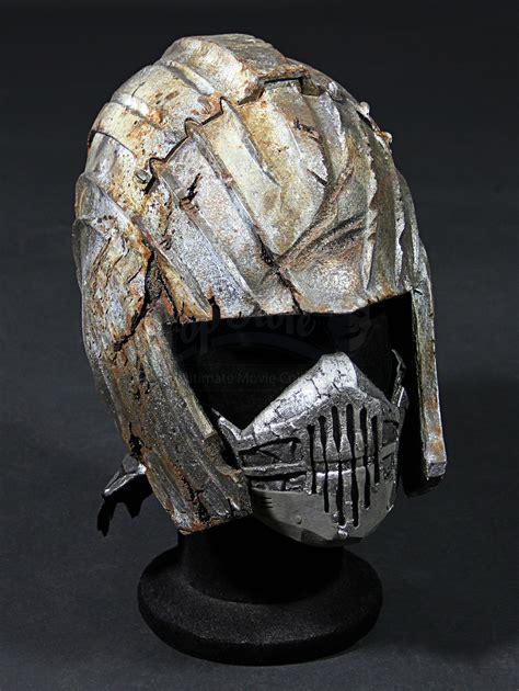 distressed necromongers helmet mask prop store
