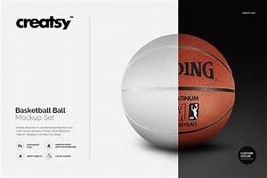 Basketball Ball Mockup Set