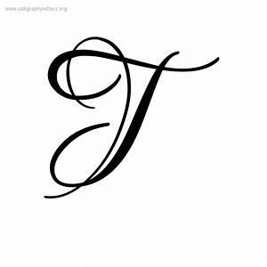 Calligraphy Letter T Designs | www.pixshark.com - Images ...