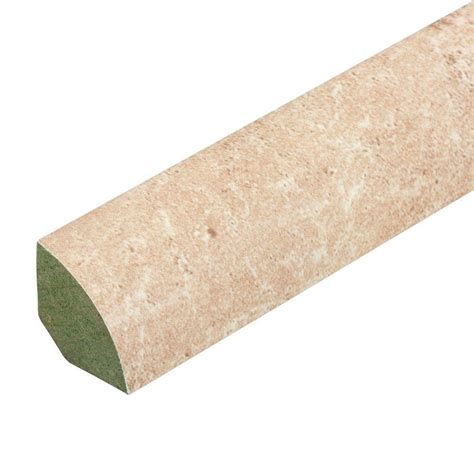 travertine molding innovations tavas travertine 3 4 in thick x 0 75 in wide x 94 in length laminate quarter