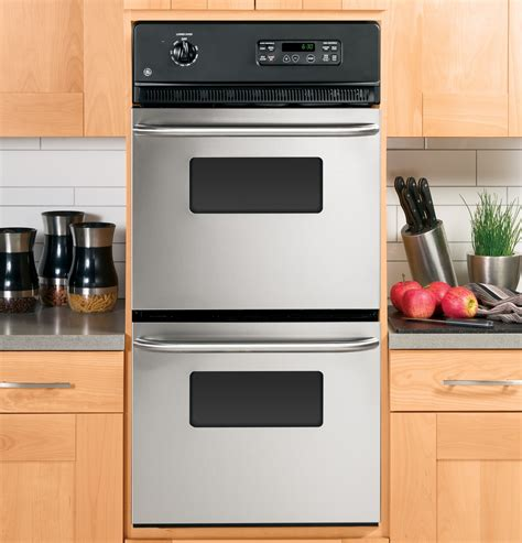 jrpskss ge  double wall oven stainless steel
