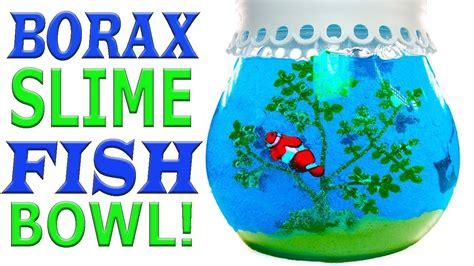 Make Your Own Sand Slime Fish Bowl! Summer Room Decor