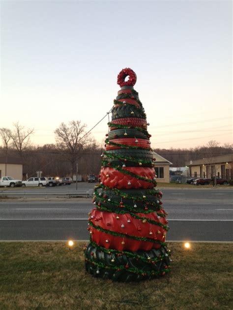 tire christmas tree  projectsatobn