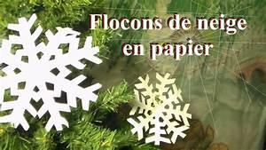 Flocon De Neige En Papier Facile Maternelle : fabriquer un flocon de neige en papier bricolage de no l avec les enfants youtube ~ Melissatoandfro.com Idées de Décoration