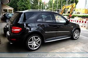 Laderaumabdeckung Mercedes Ml W164 : mercedes benz ml 63 amg w164 2009 7 juni 2009 autogespot ~ Jslefanu.com Haus und Dekorationen