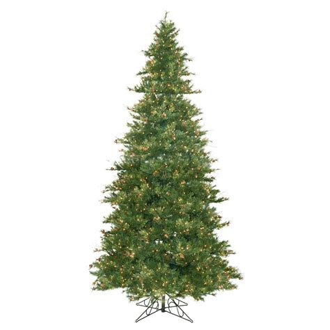 christmas trees with pine cones 9 ft slim mixed country pine cone christmas tree clear ebay