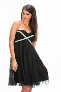 Porter une robe bustier noire all pictures top for Bustier robe