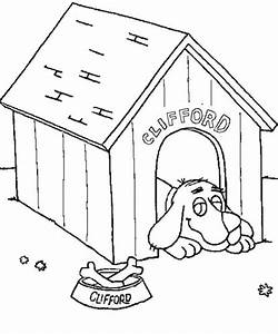 Dog House Coloring
