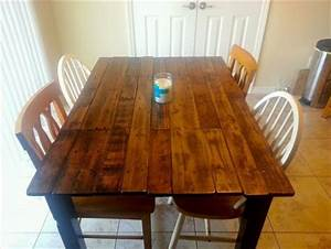 Kitchen Table Plans - House Furniture