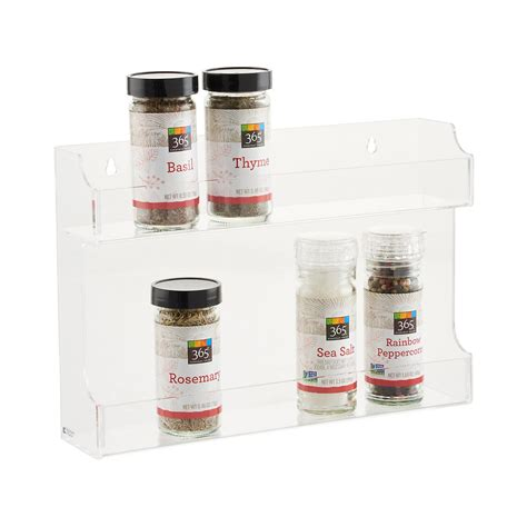 Container Store Spice Rack by Acrylic Spice Rack The Container Store