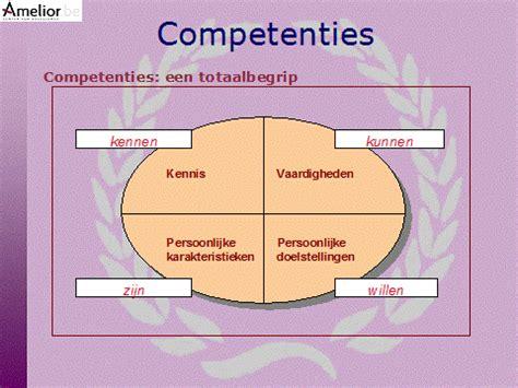competenties leidinggevende