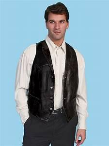 Lane Size Chart Scully Whip Stitch Vest Italian Lamb Black