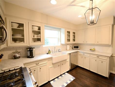 Cream Kitchen Cabinets Light Counters  , Cream Kitchen