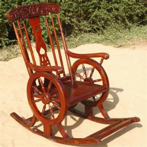 vintage wood outdoor glider rocking chair furniture new ebay