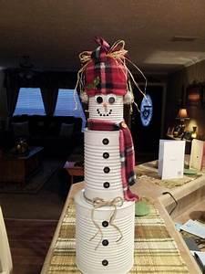 Tin, Can, Snowman