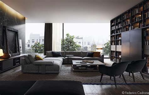 unique living room interior design theme  color