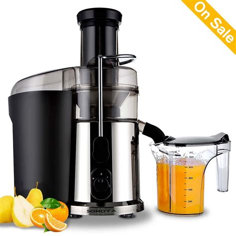 fruit juicer juicers juice electric masticating extractor squeezer maker stainless cup steel 1l custom soft fruits veggies coolest cups greatest