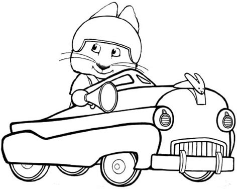 Max And Ruby Coloring Page - Eskayalitim