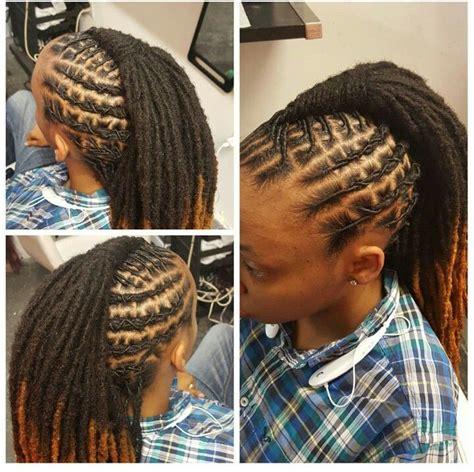 dread style beautiful locs sisterlocs natural hair