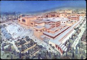 HistoryWiz: The Palace at Knossos - The Minoans Exhibit