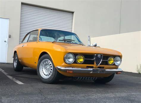 1969 Alfa Romeo Gtv by 1969 Alfa Romeo Gtv 1750 For Sale On Bat Auctions Sold