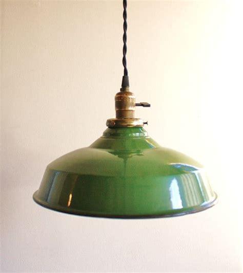 vintage pendant lights for kitchens vintage green enamel pendant l pendant lights green