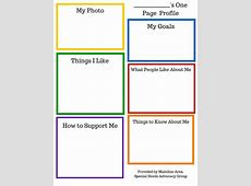 One Page Profile Template Image collections Template