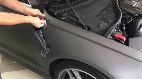 Neutralisierung Car Wrapping Folie
