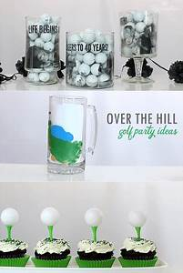 DIY Golf-Themed Party Ideas (Over the hill!) - Rosyscription