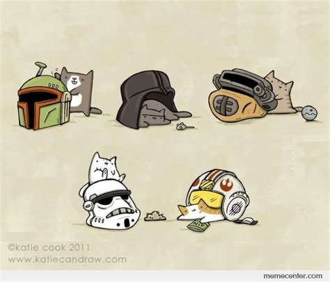 cats  star wars helmets  ben meme center