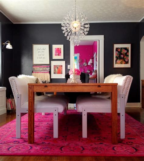 Area rug dining