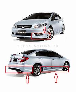 Buy Honda Civic Modulo Body Kit Taiwan - Model 2012-2016 ...