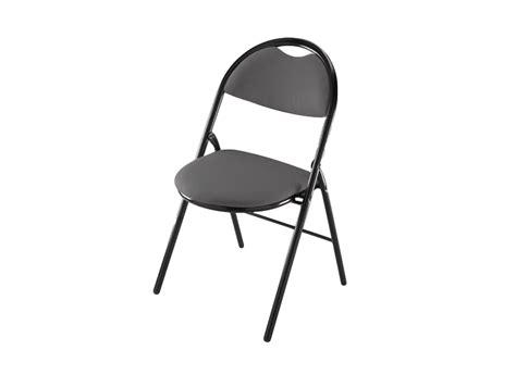 chaise pliante grise neuve adopte un bureau