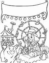 Coloring Fair Pages Carnival Web County State Charlottes Food Rides Contest Charlotte Printable Fun Print Themed Pig Wheel Characters Getcolorings sketch template