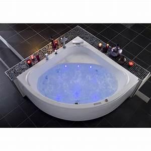 Baignoire Balnéo D Angle : baignoire baln o d 39 angle mod le lagune syst me perle ~ Dailycaller-alerts.com Idées de Décoration