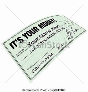 It'S Your Money - Check For... Clip Art - Instant Download ...