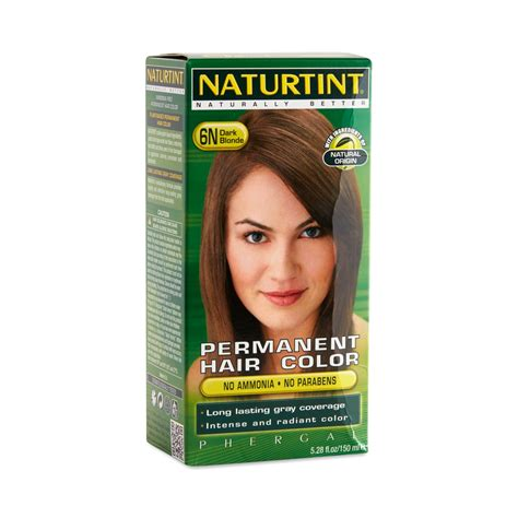 naturtint permanent hair color 6n permanent hair color by naturtint thrive