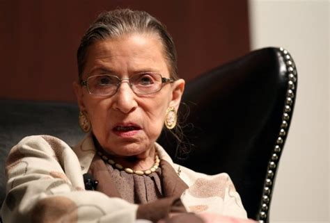 Ruth Bader Ginsburg On The Court, Scalia, And The