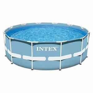 Piscine Tubulaire Intex : piscine intex tubulaire ronde prism frame 3 66 x h0 76m ~ Nature-et-papiers.com Idées de Décoration