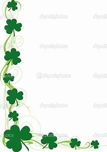 Border Of Shamrocks Clipart - Clipart Suggest