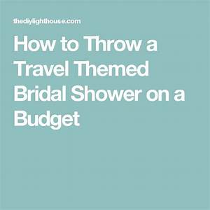 10 images about wedding planning on a budget on pinterest for Planning a wedding shower on a budget