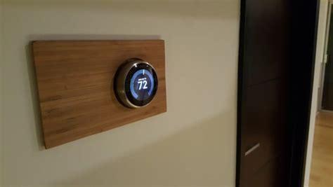 decorative wall plate  nest smart thermostat ikea hackers ikea hackers