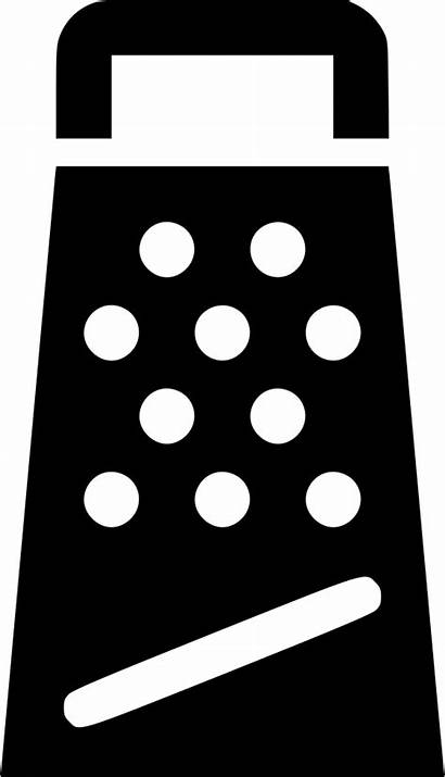 Cheese Svg Clipart Grater Square Transparent Icon