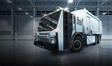 mack plans  send electric trucks   garbage dump