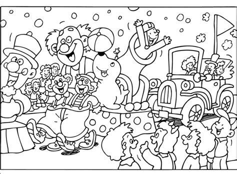 Kleurplaat Clown Strik by Kleurplaat Strikje Voor Clown Thema Carnaval T Day