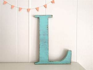 decoration wood letters french cottage wall decor by With letter light decor