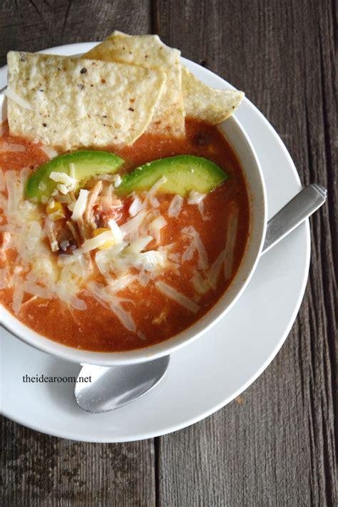 crockpot tortilla soup crockpot chicken tortilla soup recipe
