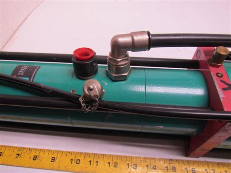 tox pressotechnik s 04 00 100 240 us pneumo hydraulic power cylinder kraft paket ebay