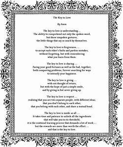 poem by anon great reading for a wedding ceremony With poems for wedding ceremony