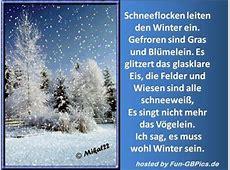 Winter Bilder Sprüche Gruß Facebook BilderGB Bilder